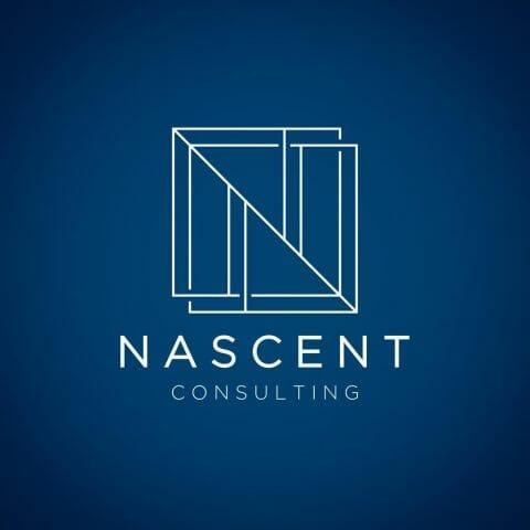 Abstract Logo Design for Nascent Consulting - Cosas Difíciles Que Hacemos: Laberintos Libros