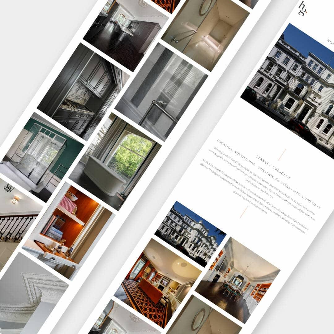 Property development branding web design
