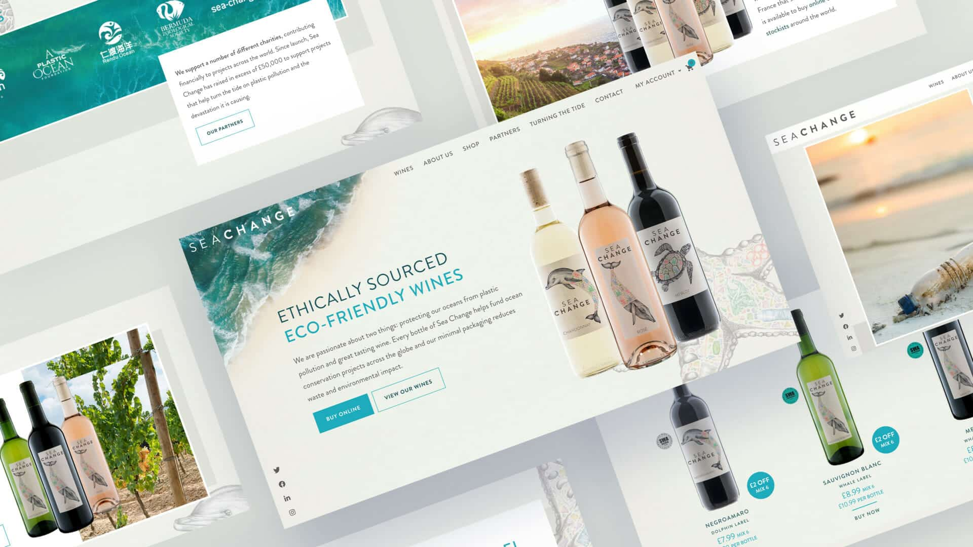 website branding FMCG and sustainable