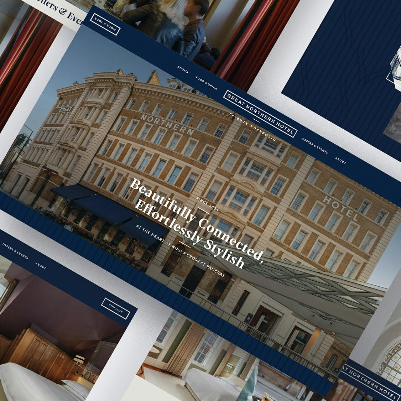 Luxury Hotel website and branding
