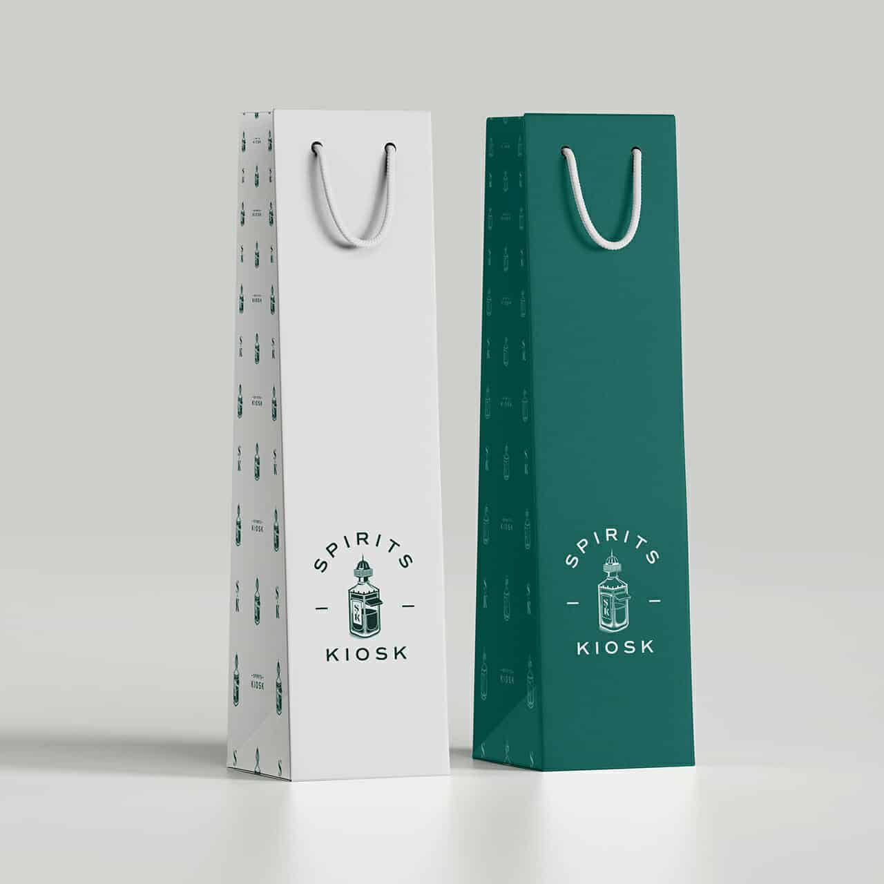 Gift Bag branding and packaging