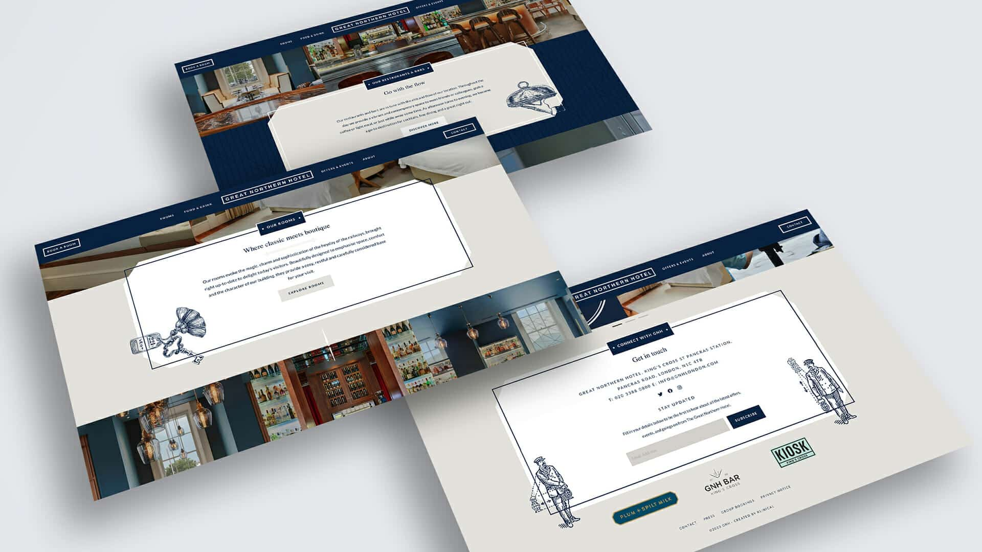Great Northern Hotel Website Redesign